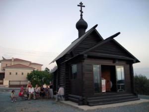 У часовни святого Николая Кипр